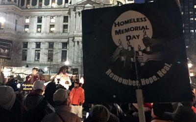 Homeless Memorial Day - Sr. Mary Scullion