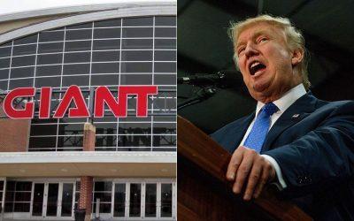 Giant Center; Donald Trump