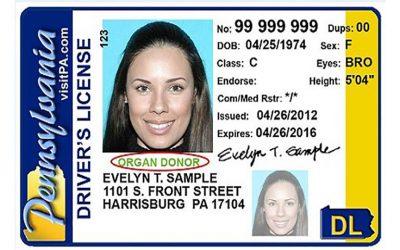 PA drivers license