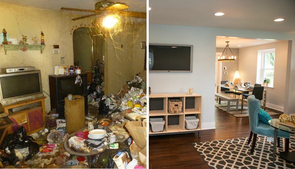from trash to treasure the story of the ugliest house in america philadelphia magazine. Black Bedroom Furniture Sets. Home Design Ideas