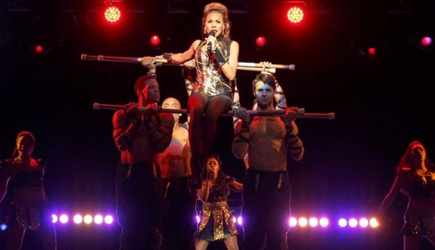 Deborah Cox and Company in The Bodyguard at the Academy of Music.