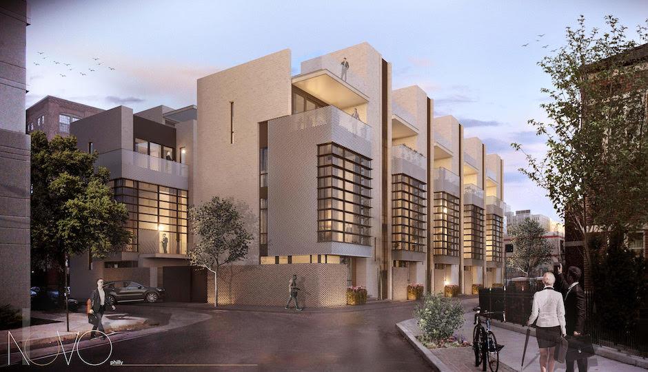 The NOVO Philly development. | Renderings: Atrium Design Studio