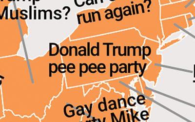 Donald Trump pee pee party