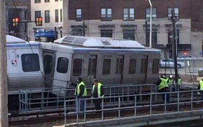 SEPTA El train crash