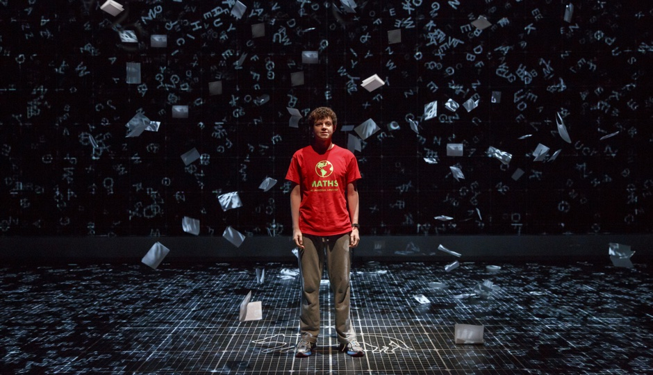 The Curious Incident of the Dog in the Night-Time is at the Academy of Music through Sunday. Photo provided