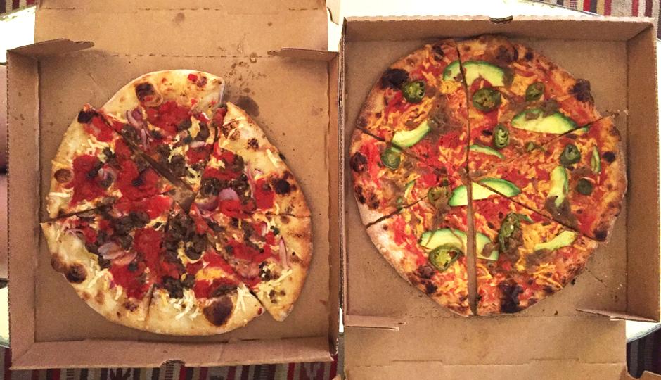 Blackbird Pizzeria pizzas | Photo by Emily Leaman