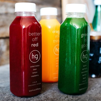 Honeygrow just launched a line of cold-pressed juices | Photo via Instagram