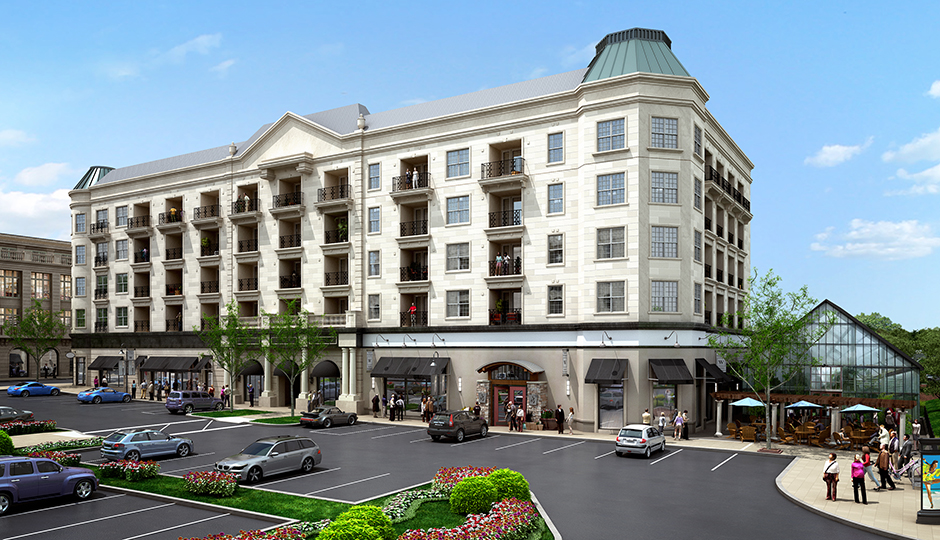 Rendering of Uptown Worthington | Courtesy O'Neill Property Group