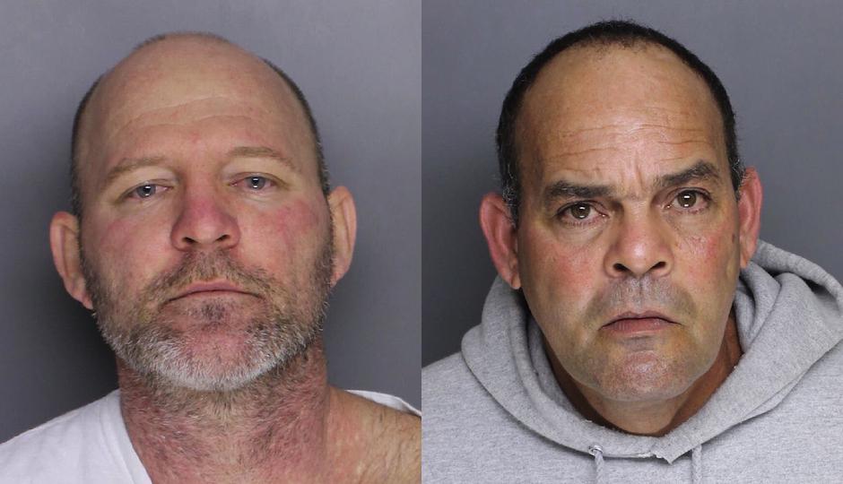 From Left: Suspects Berto Quinones and William Delgado.