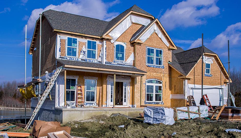 New home in Devonforde Estates | Photograph by Jeff Fusco