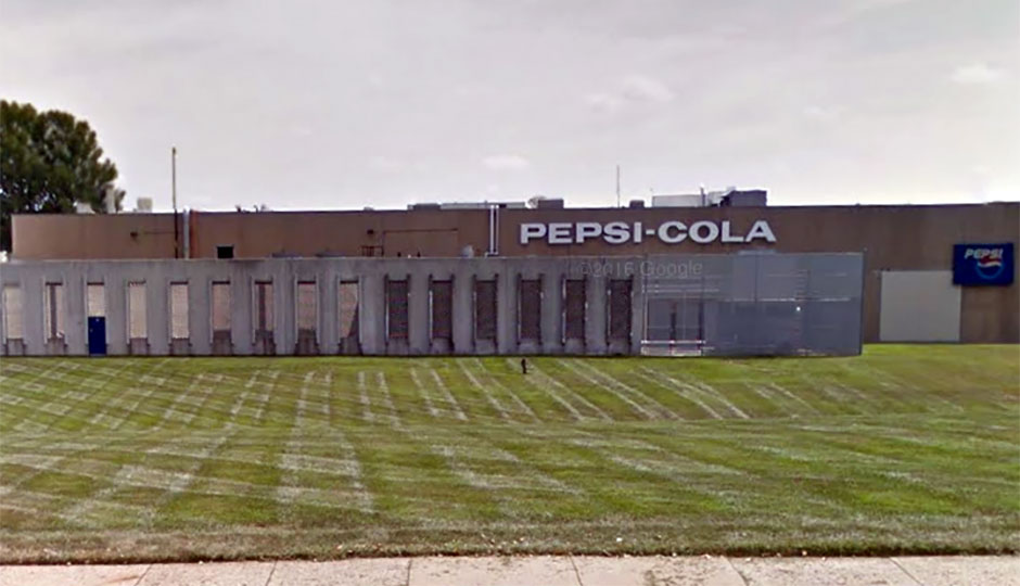 Pepsi bottling plant