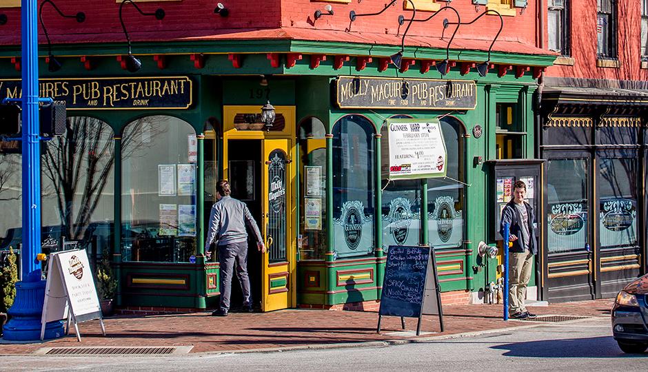 Downtown Phoenixville | Photograph by Jeff Fusco