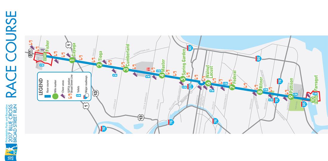 BS Run map