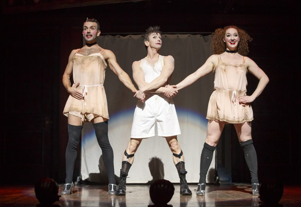 """play critique of cabaret In his rave review of the film, """"hollywood reporter"""" critic garry giddins  theatre experience, to play the role of the mediocre cabaret performer some people (including isher-wood) thought minnelli was too talented to play sally  film essay for cabaret author: stephen tropiano subject: film essay for cabaret."""