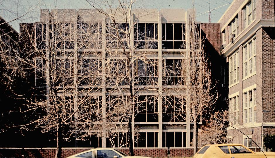 Pender Engineering Laboratory, Geddes Brecher Qualls Cunningham, 1962, demolished 2004.