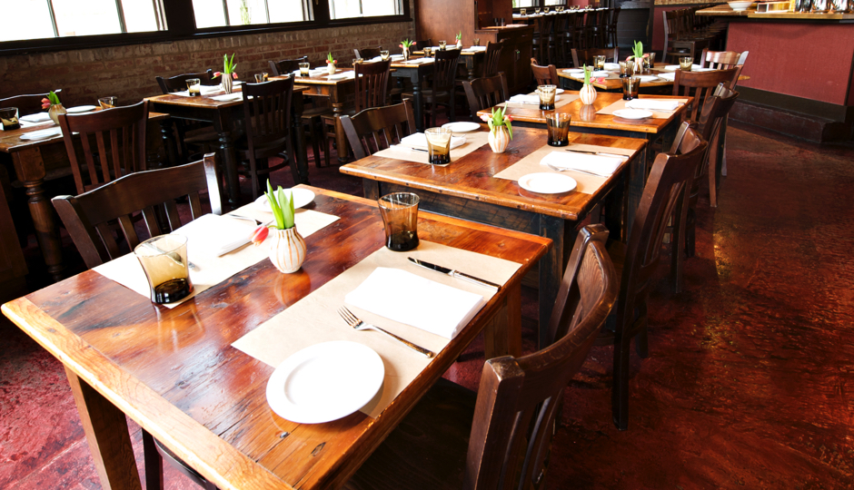 Osteria dining room