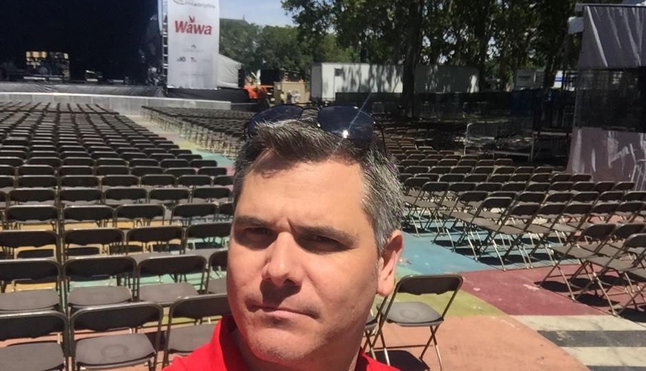 A Jeff Guaracino selfie. Image courtesy of Welcome America.