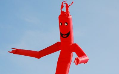 inflatable tube man