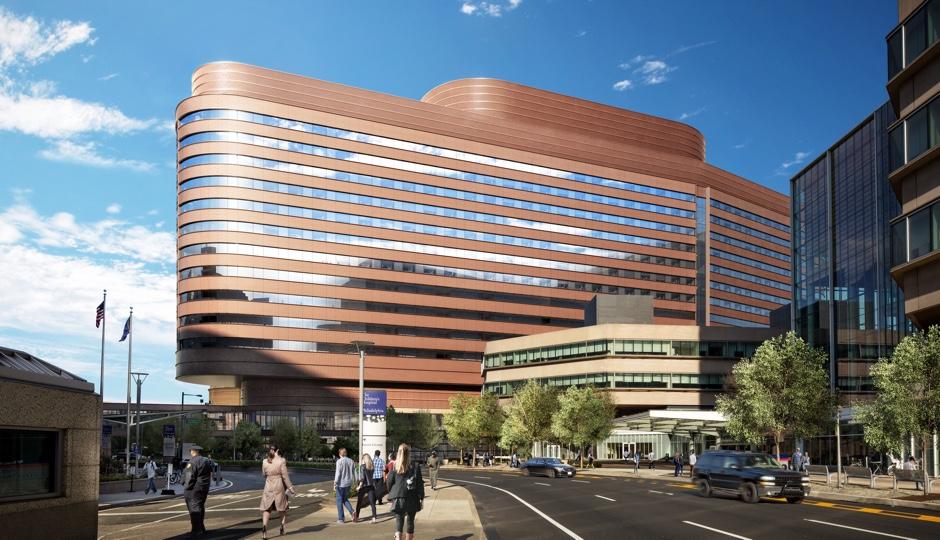 Penn Hospital's Pavilion. Rendering courtesy of Penn Hospital.