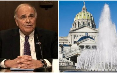 rendell, harrisburg, capitol