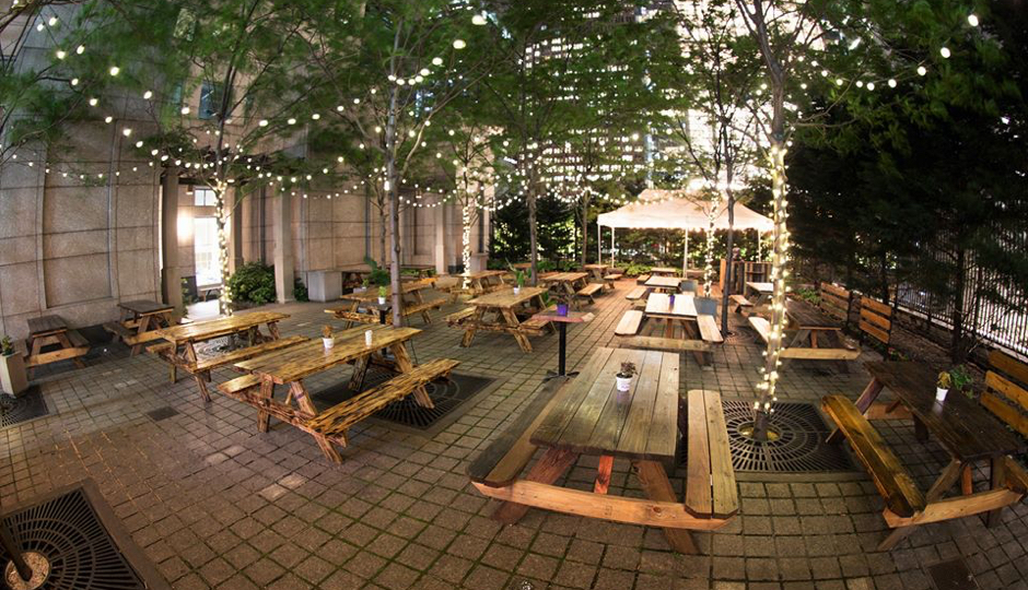 Uptown Beer Garden Opens For A Third Season