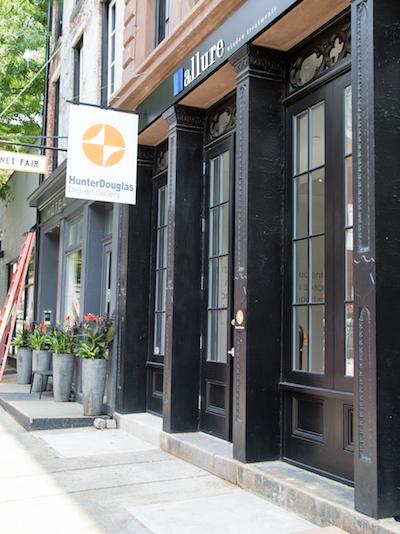 The Exterior Of Allure S Hunter Douglas Design Gallery
