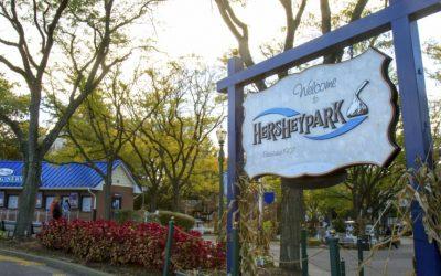 hershey park, rides
