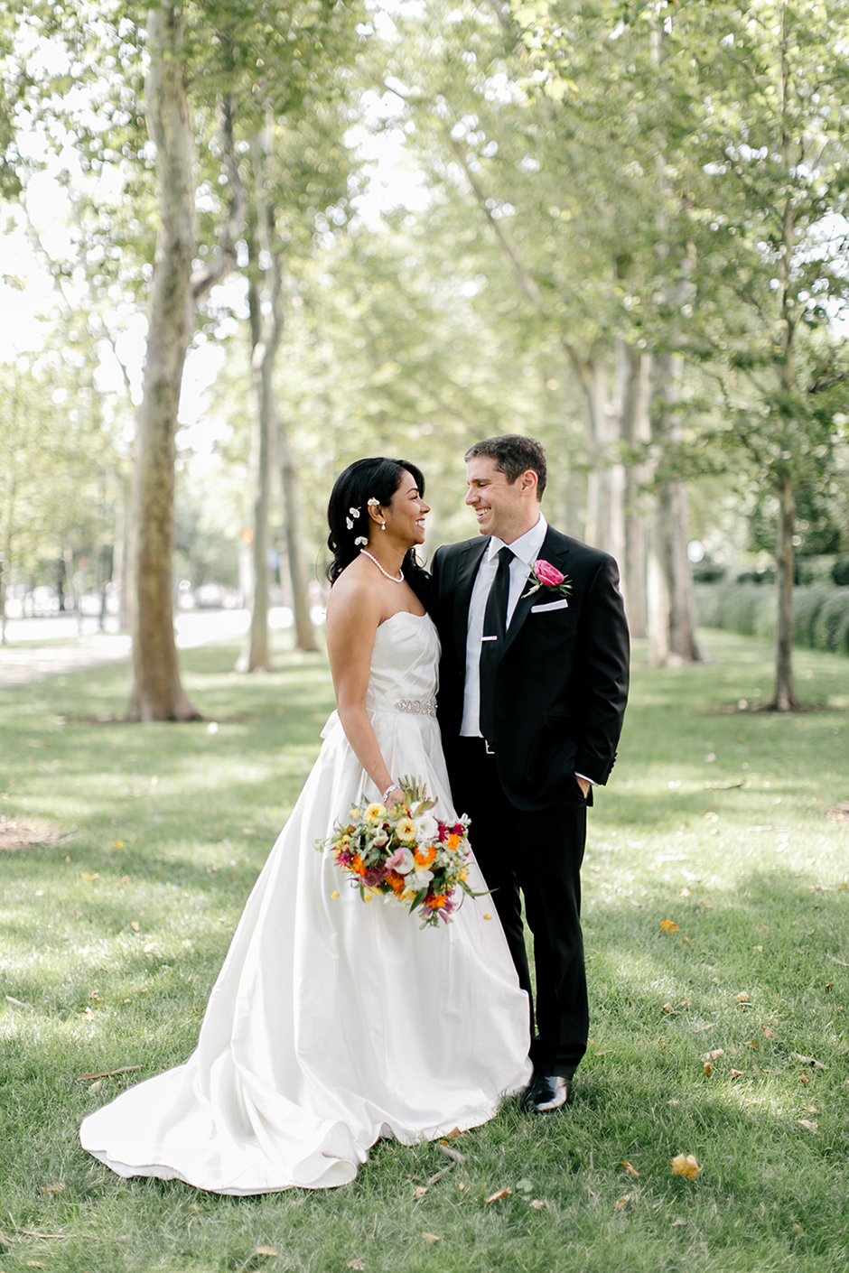 You\'ll Barely Recognize Dilworth Plaza in this Fun Fusion Wedding ...