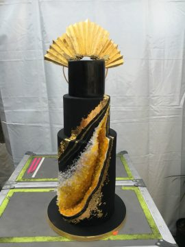 Fishtown Based Cake Life Bake Shop Said They Got A Mysterious Request Last Weekend For Black And Yellow Think Queen Bey With Geode Theme