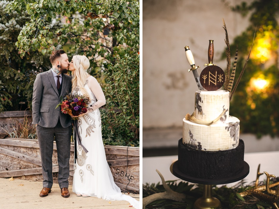 A medieval inspired wedding really shouldnt be this cool photos by jessica flynn of peach plum pear photography junglespirit Images