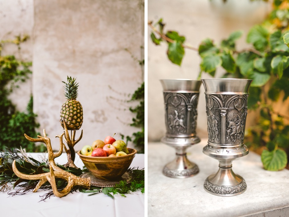 A Medieval-Inspired Wedding Really Shouldn't Be This Cool