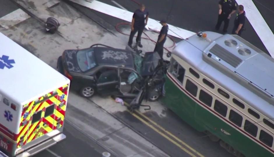 trolley crash