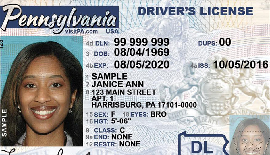 Accept License Will Airports Still In Your Pa 2018 Driver's