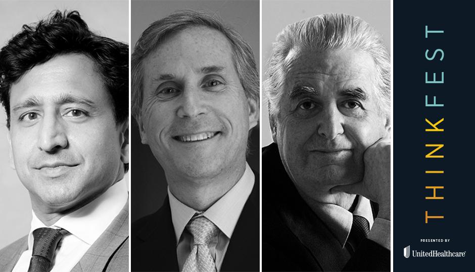 Neil Shah, Jerry Sweeney, Cecil Baker
