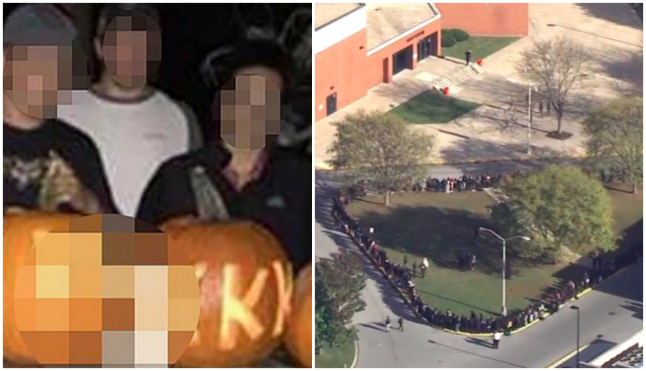 pumpkins, coatesville, protest