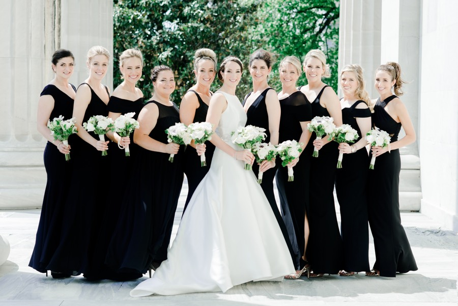 This Classic Black  White Wedding Is Also Classic Philadelphia-1573