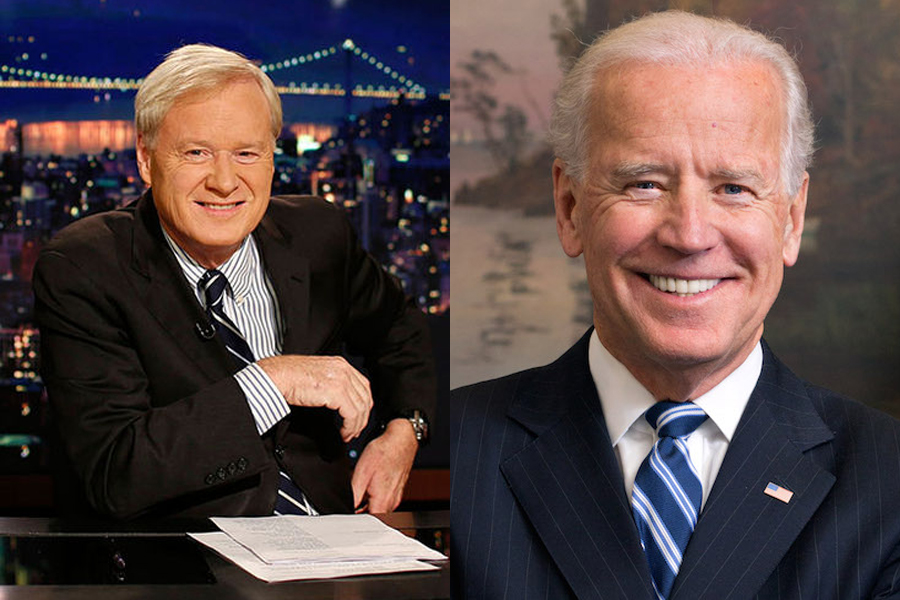 MSNBCs Chris Matthews Joe Biden Will Run for President in 2020