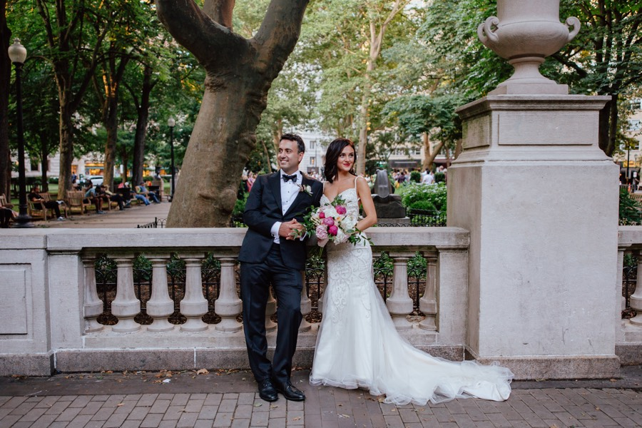 Let This Couple Be Your Guide to Perfect Rittenhouse Square Wedding ...