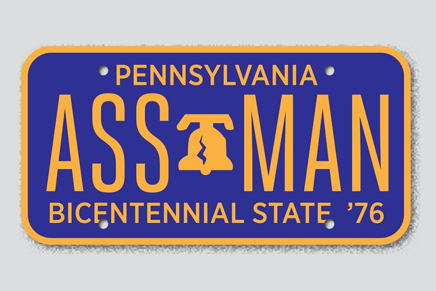 DNYED: The Vanity License Plates PennDOT Rejected – Philadelphia ...