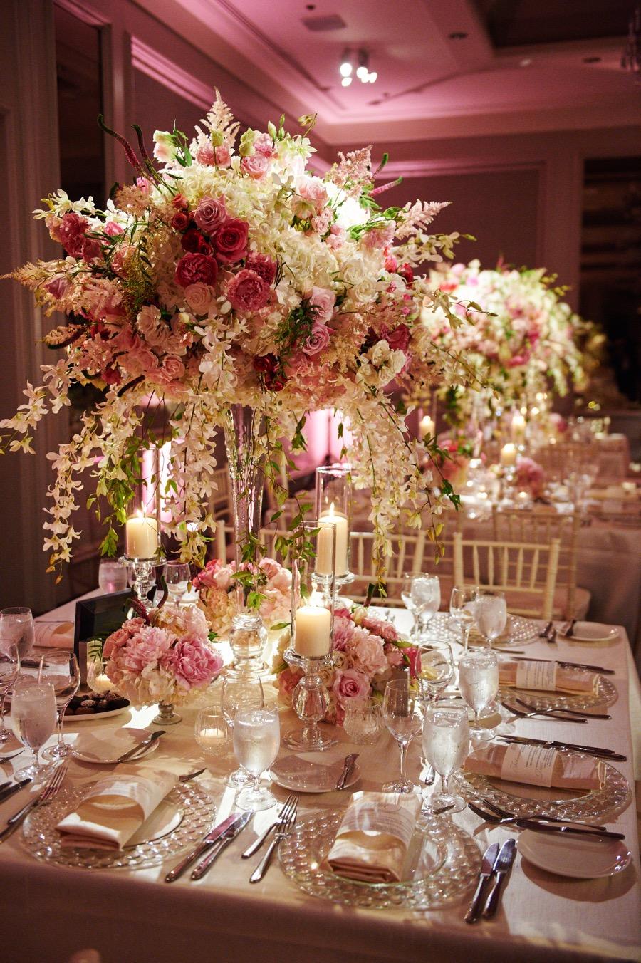 A Romantic Pink Ballroom Wedding At Philadelphias Logan Hotel