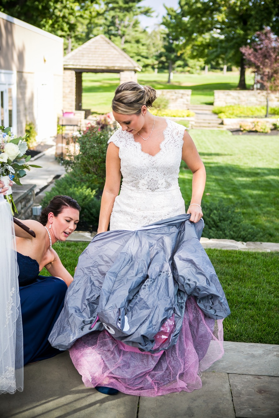 This bride hilariously pranked her groom by wearing a hippo costume philadelphia wedding you got your hair and makeup done just before putting on the costume were you worried about overheating and messing up your look junglespirit Gallery