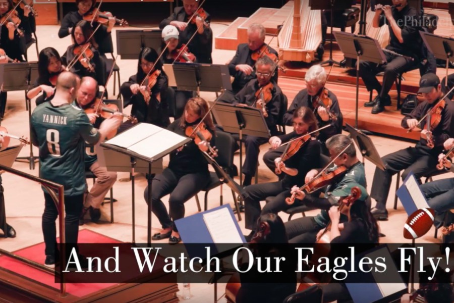eagles, philadelphia orchestra