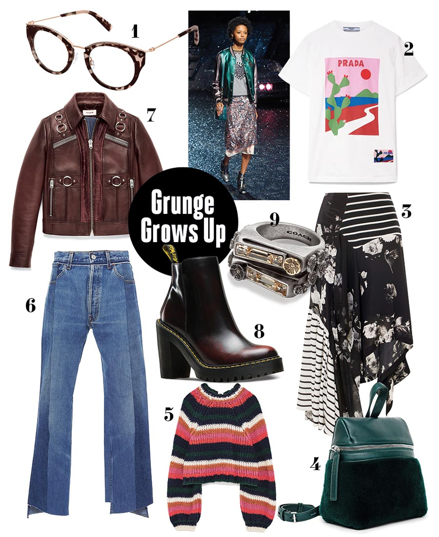 the look 9 ways to wear grunge fashion this winter
