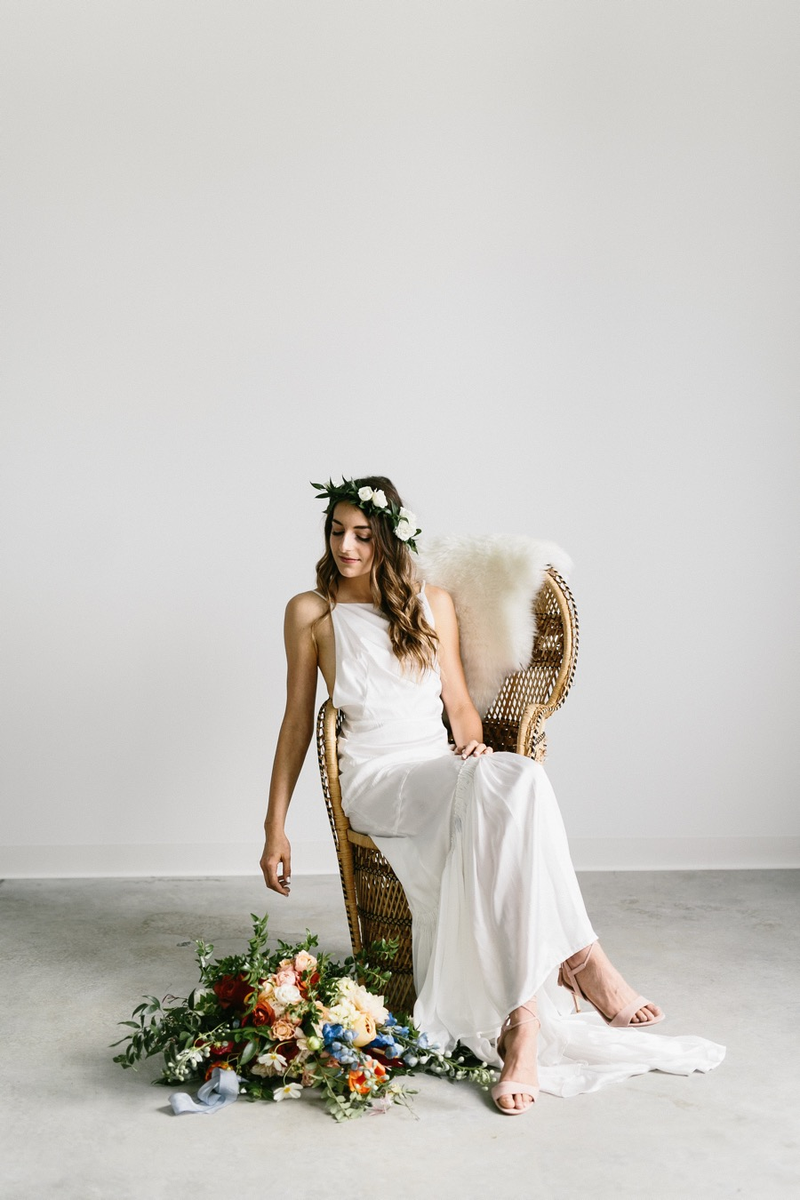 This Minimalist Hipster Wedding Was One of the Coolest We Saw in ...