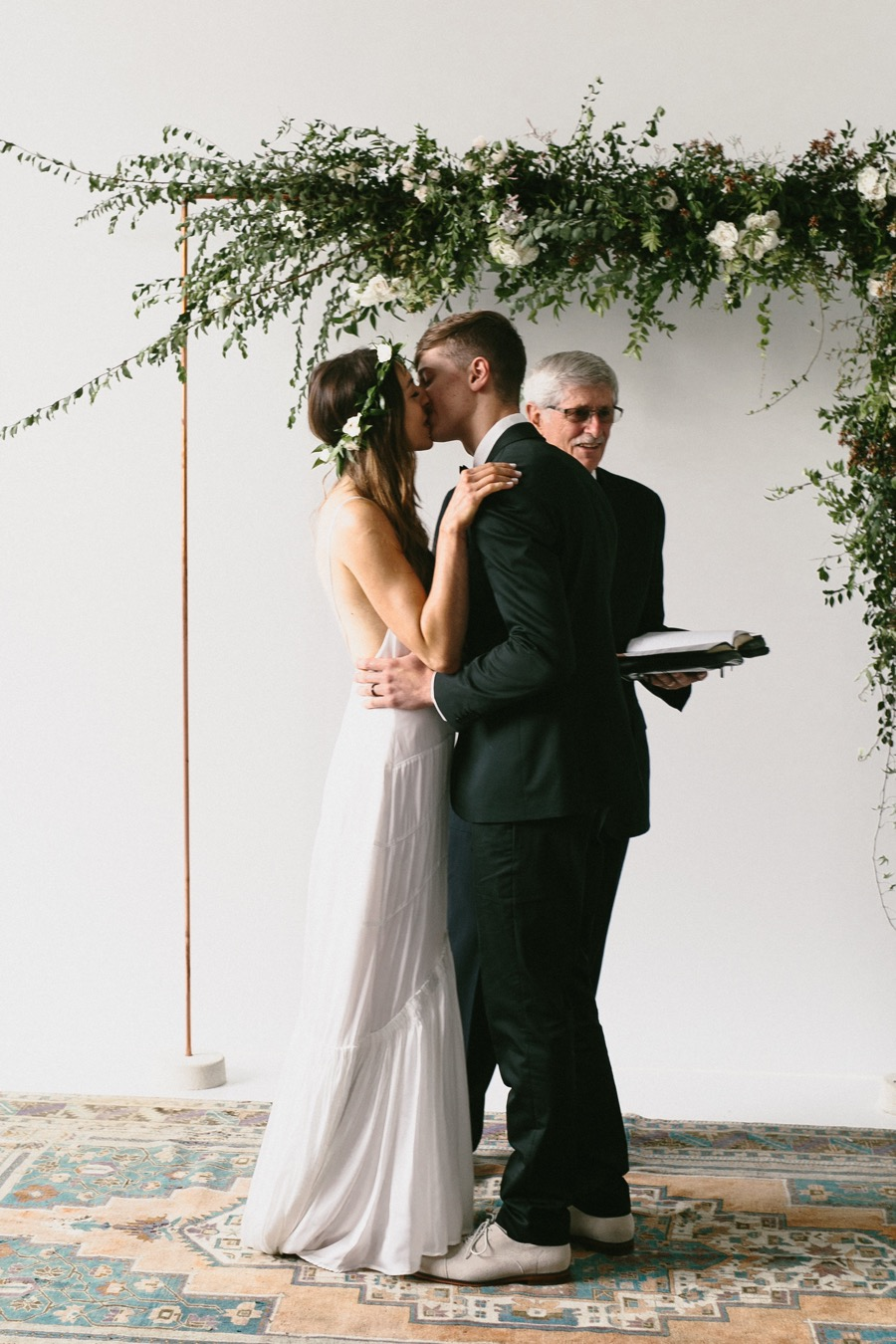 This Minimalist Hipster Wedding Was One Of The Coolest We