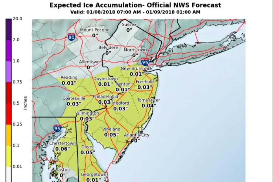 snow, ice, winter weather advisory