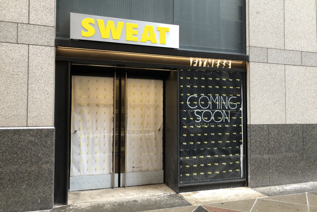 Is Sweat Fitnessu0027 Broad Street Location Ever Going To Open?