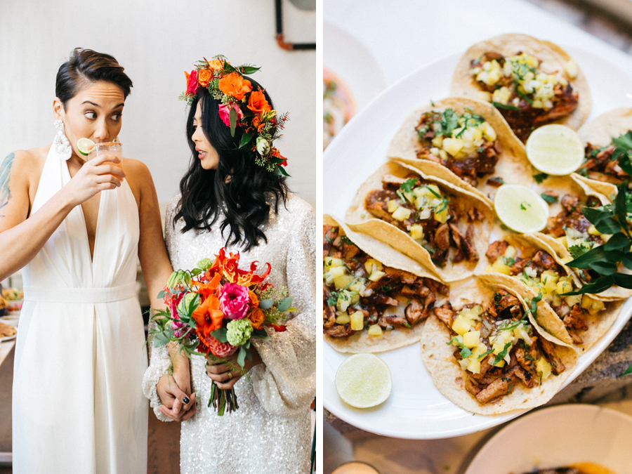 What A Taco Filled Wedding At Phillys Mission Taqueria Looks Like