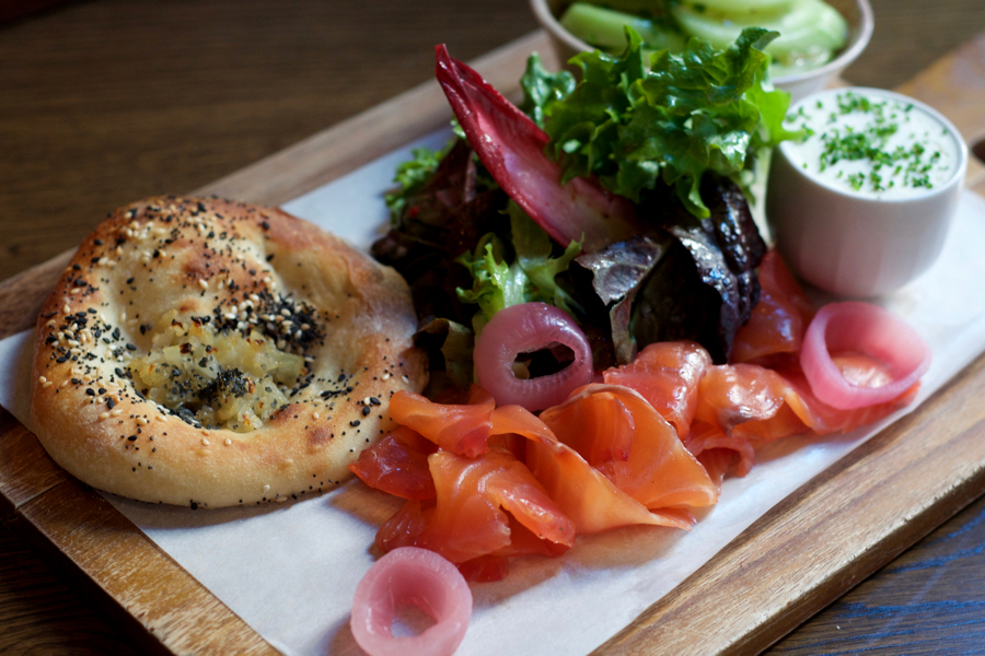 The love smoked salmon gravlax bialy alex jones 900x600