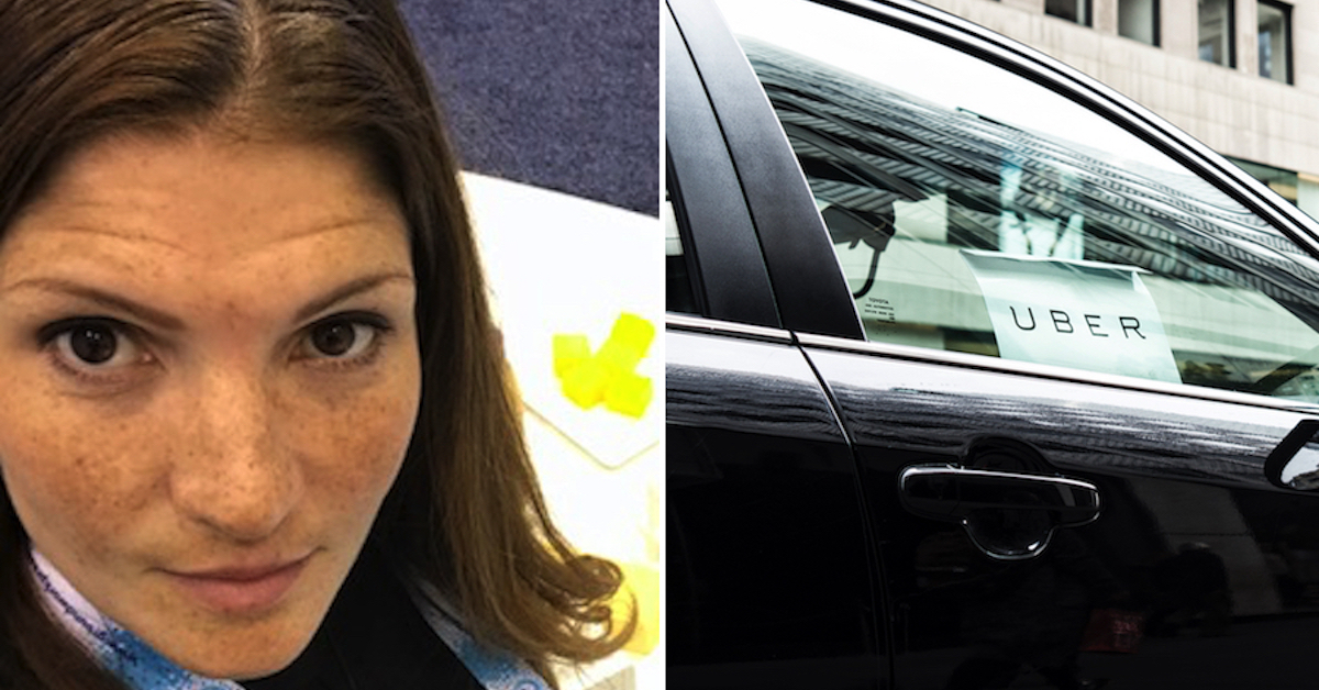 """This Woman's """"Nightmare"""" Uber Ride Was Probably Worse Than Yours"""
